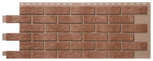 Novik Hand-laid brick - Brown blend